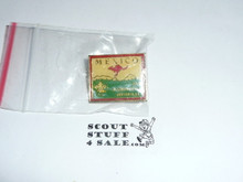 1983 Boy Scout World Jamboree Mexico Contingent Pin