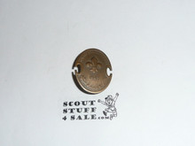 1963 Boy Scout World Jamboree Bronze Participant Pin