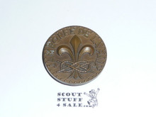 1947 Boy Scout World Jamboree Large Souvenir Coin