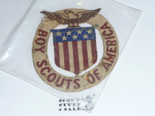 1920 & 1924 Boy Scout World Jamboree Felt USA Contingent Patch, used