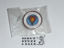 Western Traders Association & Southern California Association of Traders 75th BSA Anniversary Pin