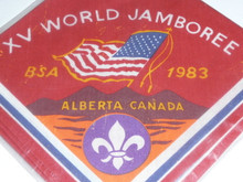 1983 Boy Scout World Jamboree USA Contingent Neckerchief
