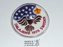1979 Boy Scout World Jamboree USA Contingent Patch