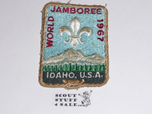 1967 Boy Scout World Jamboree Patch, used