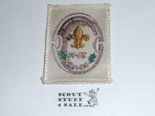 1963 Boy Scout World Jamboree Sateen Patch