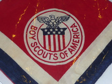 1951 Boy Scout World Jamboree USA Contingent Neckerchief