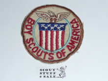1947 Boy Scout World Jamboree USA Contingent Patch, used