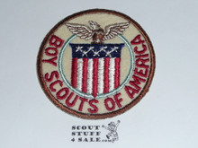 1947 Boy Scout World Jamboree USA Contingent Patch