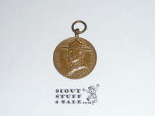 1937 Boy Scout World Jamboree VIP Medal (not Presented with ribbon, sold as presented), Baden Powell on front