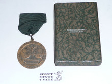 1929 Boy Scout World Jamboree USA Contingent Medal in the Presentation Box
