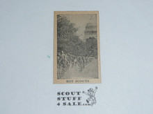 Unknown Card Series, Boy Scouts at the Capitol
