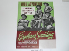 1930's 11x17 Poster Join The Explorer Scouts