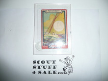1933 Some Boy Chewing Gum Boy Scout Card Set By the Goudey Gum Company, Boston Ma, #7 The Sailboat