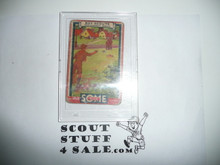 1933 Some Boy Chewing Gum Boy Scout Card Set By the Goudey Gum Company, Boston Ma, #45 Pitching Horseshoes