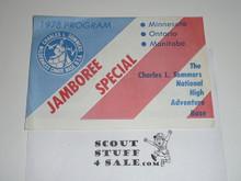 1978 Program Brochure