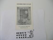 Lone Scout Postcard