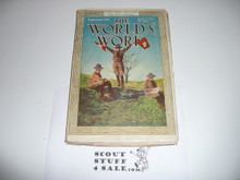 1911 The Worlds Work Magazine, 9-11 Issue, Features A Huge Article About the Boy Scouts
