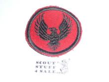 Flying Eagle Patrol Medallion, Felt No BSA & Gauze Back, 1927-1933