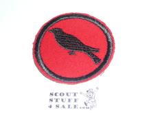 Cuckoo Patrol Medallion, Felt No BSA & Gauze Back, 1927-1933