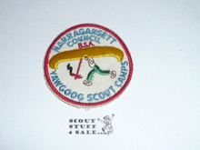 Yawgoog Scout Reservation cut edge Patch