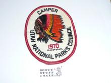 Utah National Parks Camper Patch 1970