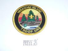 Treasure Island Troop One Patch
