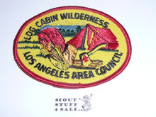 Log Cabin Wilderness Camp Patch
