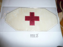 First Aid Red Cross Armband from an early Jamboree