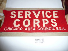 Chicago Area Council / Owasippe Lodge Service Corps Armband