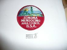 Sonoma Mendocino Area Council Patch (CP)