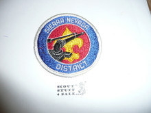Sierra Nevada District Council Patch (CP)