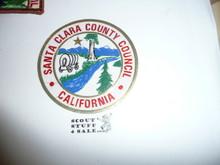 Santa Clara County Council Decal