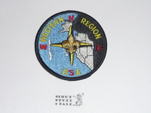 Western Region Patch - Plastic Back
