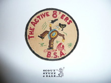 Region 8 RARE cut edge Twill Patch - Original