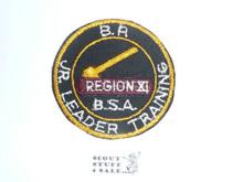 Region 11 JLT cut edge Patch - Original