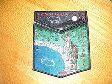 Woapeu Sisilija O.A. Lodge #343 2009 NOAC 2pc Flap Set