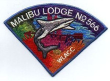 Order of the Arrow Lodge #566 Malibu P3 Pie Patch - SCARCE