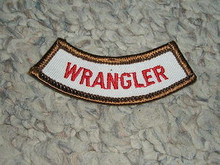 Camp Whitsett Wrangler Arc Patch - Scout