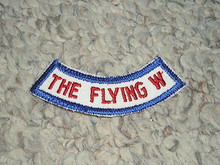 Camp Whitsett The Flying W Arc Patch - Scout