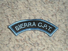 Camp Whitsett Sierra Expeditions C.P.T. Arc Patch - Scout