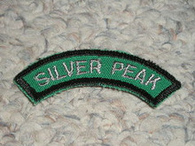 Camp Emerald Bay SILVER PEAK Arc Patch