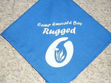 Camp Emerald Bay - Rugged O Neckerchief - Very RARE