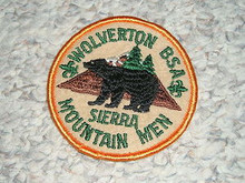 1980's Camp Wolverton Patch - Southern California Scouting