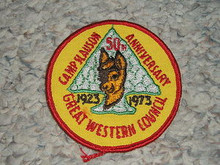 1973 Camp Slauson Patch - Southern California Scouting