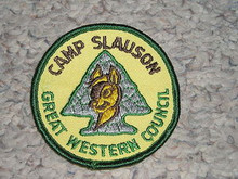 1970's Camp Slauson Patch - Southern California Scouting