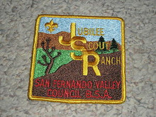 1960's Camp Jubilee Patch - Southern California Scouting