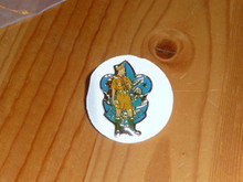 Standing Scout over BSA Emblem Pin - Scout