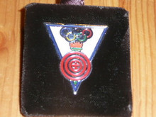 Boy Scout Olympic Torch/Shooting Pin - Scout