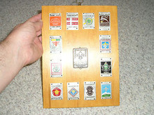 1967 World Boy Scout Jamboree Commemorative Plaque