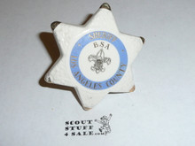 Los Angeles County Sheriff Ceramic Neckerchief Slide (For Explorers)